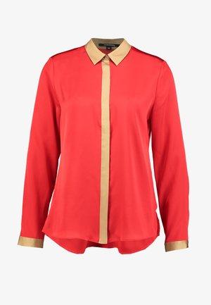 BLOUSE LONGSLEEVE - Skjorte - red