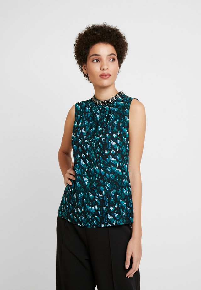 Blouse - small peacock