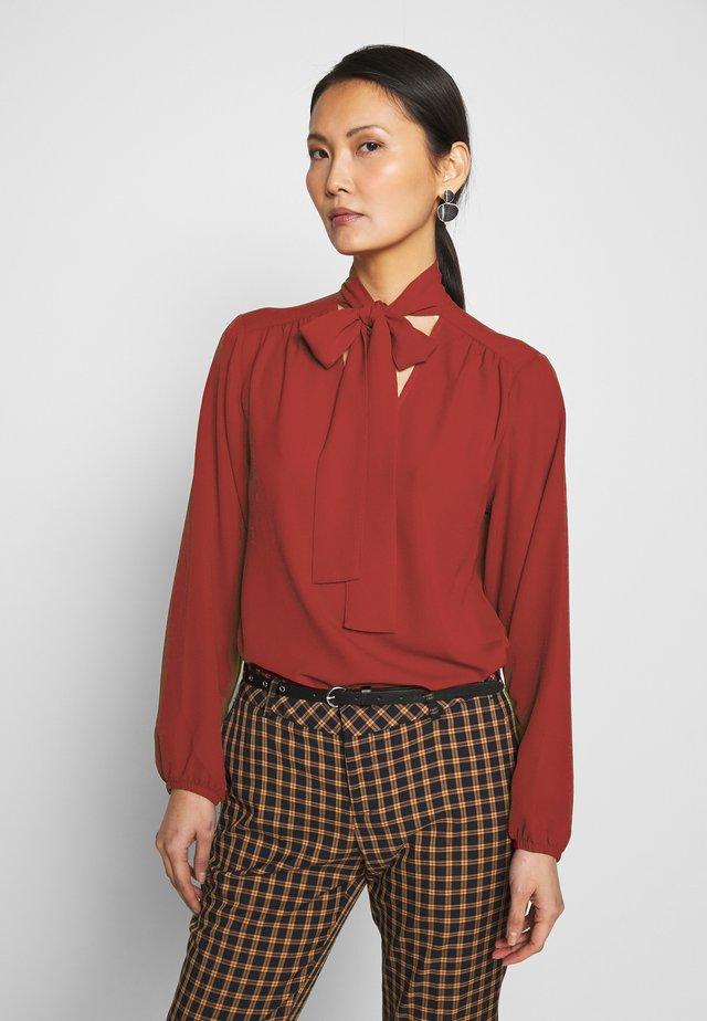 LONGSLEEVE - Blouse - scarlet red