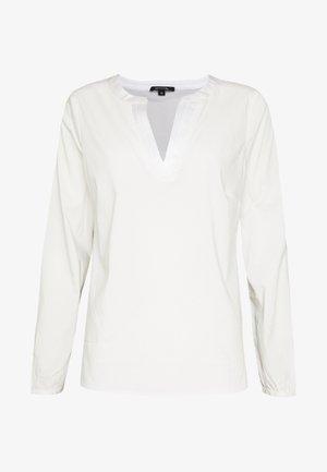 BLOUSE LONGSLEEVE - Pusero - white