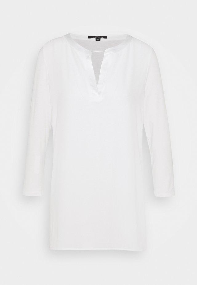 3/4 ARM - Blouse - white