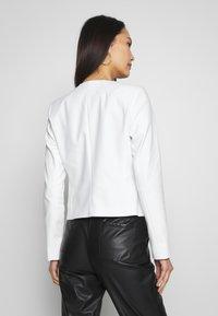 comma - BLAZER - Blazer - white - 2