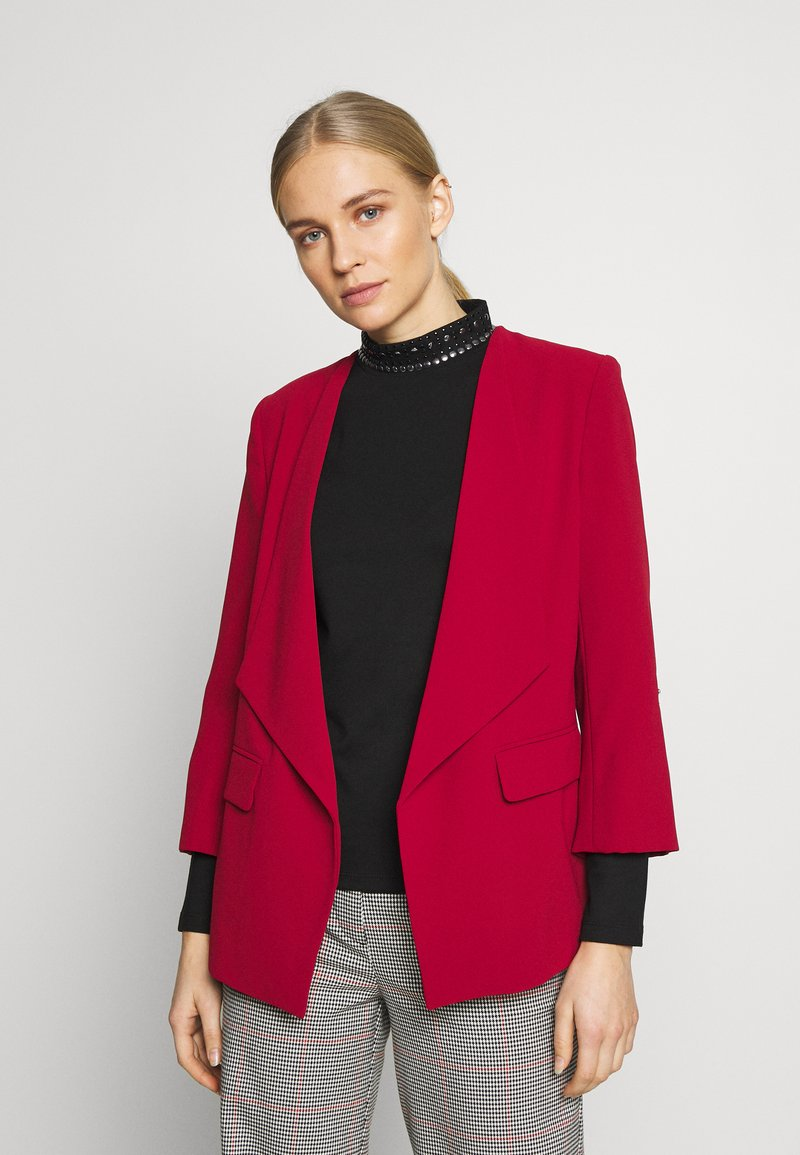 comma - Blazer - scarlet red