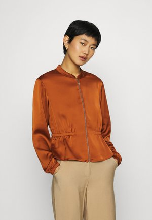 Summer jacket - cognac