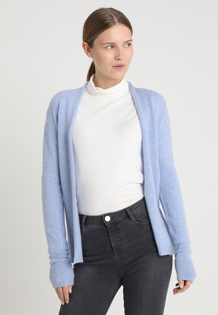 comma - LANGARM  - Cardigan - light blue