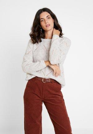 LONGSLEEVE - Pullover - white