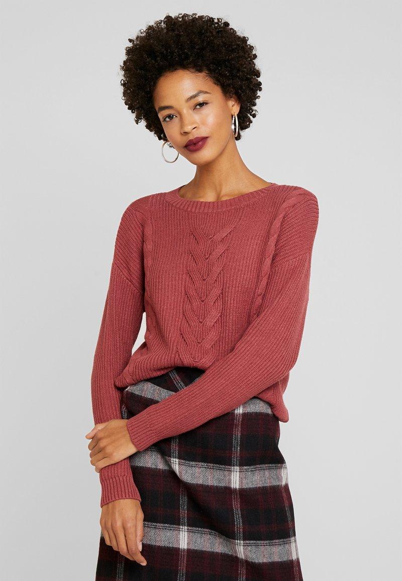 comma - Pullover - blush