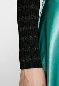 comma - LONGSLEEVE - Jersey de punto - black - 5