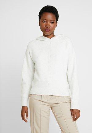 LANGARM - Jersey de punto - white melange