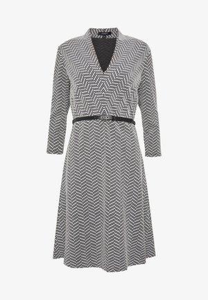 DRESS SHORT - Strikket kjole - black