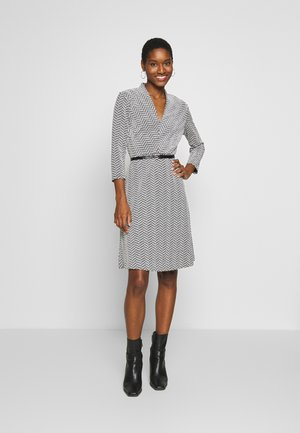DRESS SHORT - Jumper dress - black
