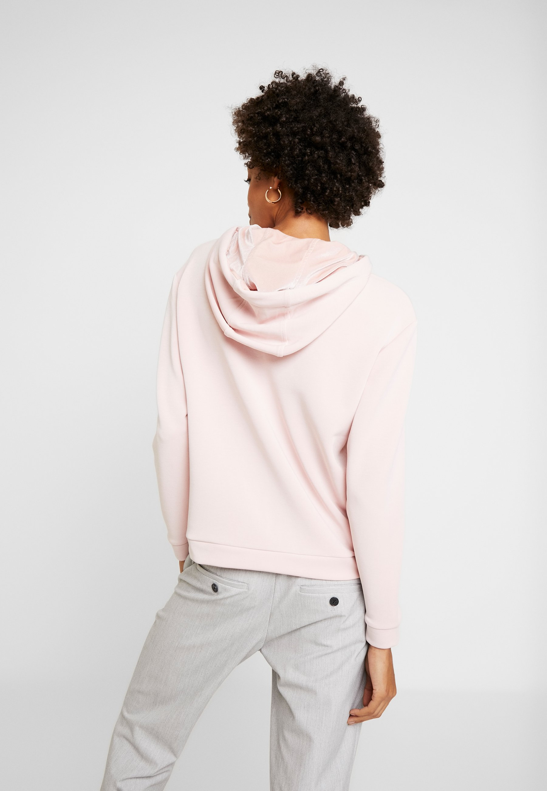 comma LONGSLEEVE - Sweat à capuche light pink