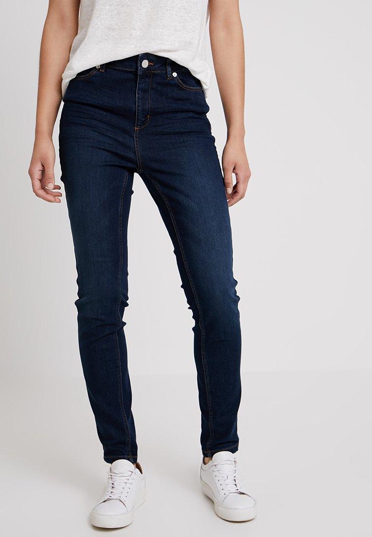 comma - HOSE - Slim fit jeans - blue denim