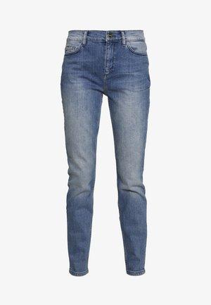 TROUSERS - Skinny džíny - blue denim stretch