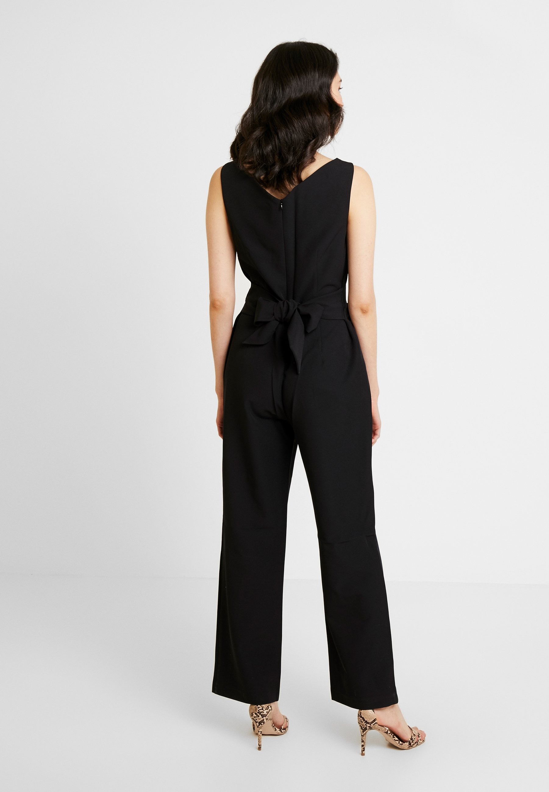 comma OVERALL - Tuta jumpsuit black