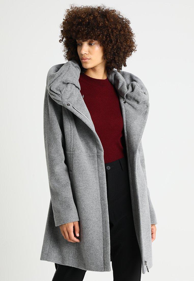 comma - Wollmantel/klassischer Mantel - light grey melange