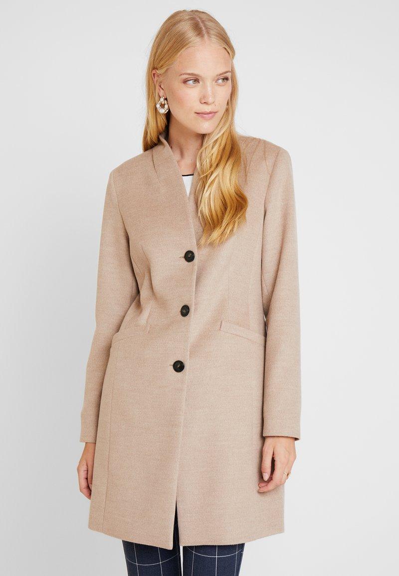 comma - COAT - Płaszcz wełniany /Płaszcz klasyczny - camel melange