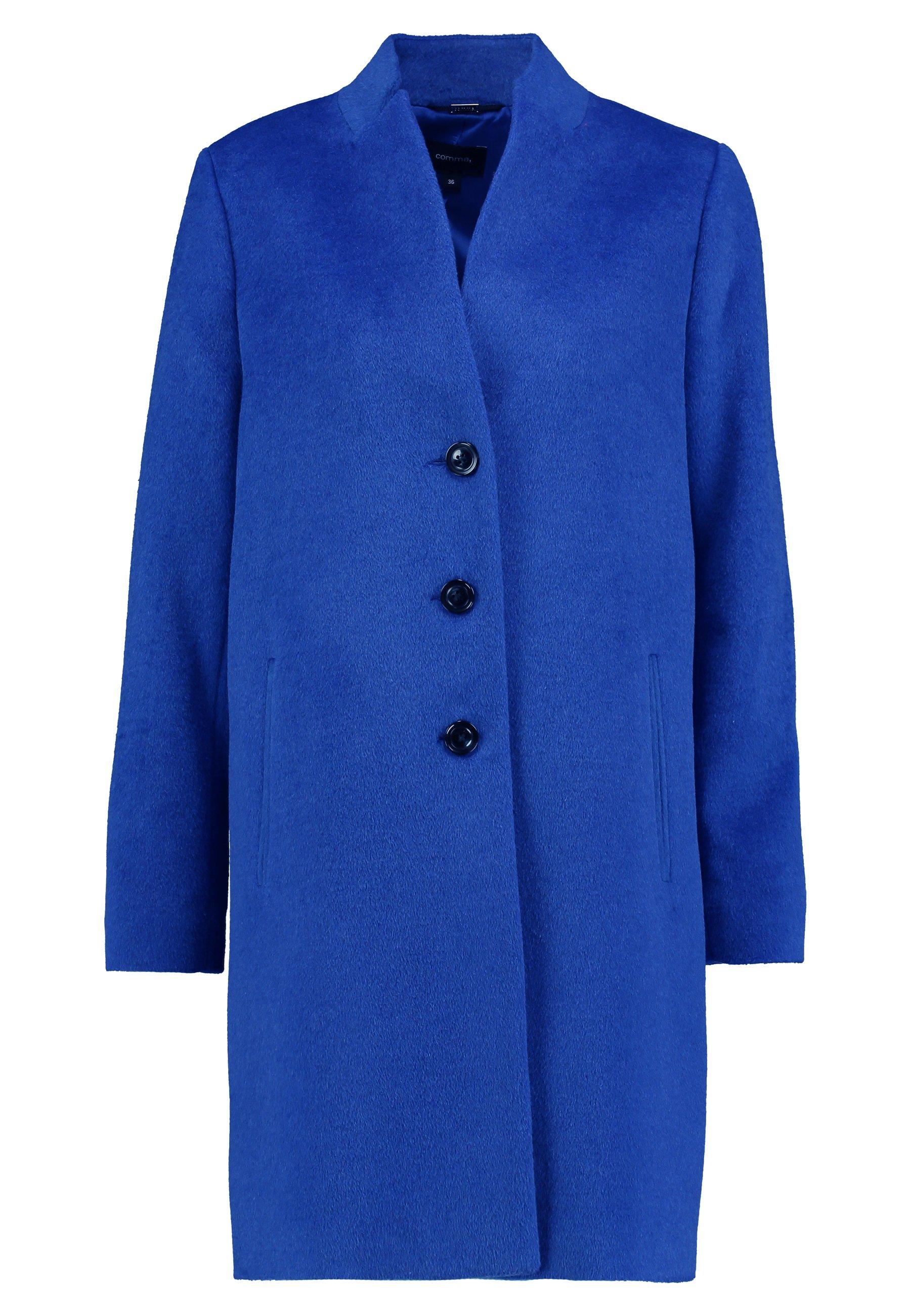 comma Płaszcz wełniany /Płaszcz klasyczny - power blue