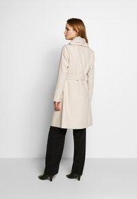 comma - COAT - Płaszcz wełniany /Płaszcz klasyczny - sand - 2