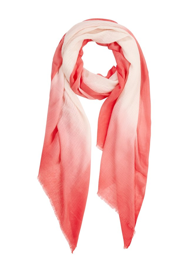 MIT FARBVERLAUF - Scarf - light pink