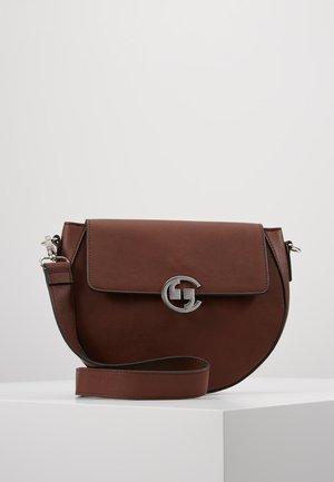 BIG SMILE - Handtasche - dark brown