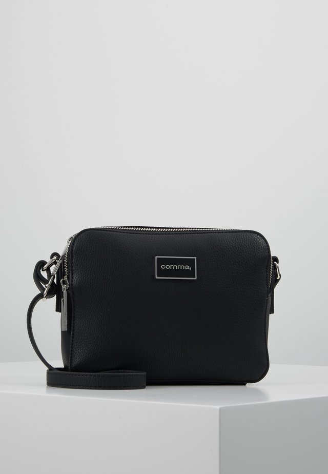 PURE ELEGANCE SHOULDERBAG - Umhängetasche - black