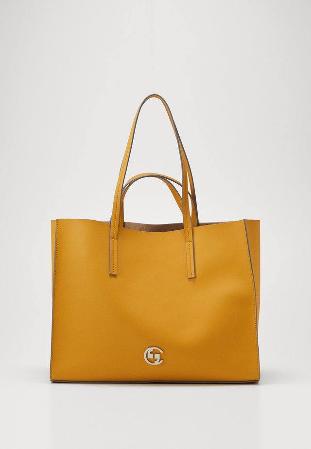 SUMMER SKY SHOPPER - Shopping Bag - yellow