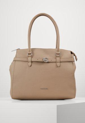 TURN AROUND - Handbag - taupe