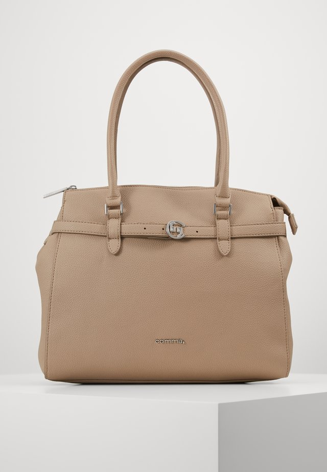 TURN AROUND - Handbag - taupe