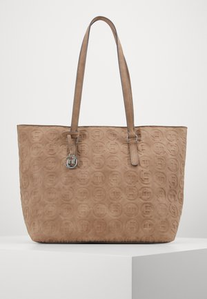 LOGOMANIA SHOPPER - Shopping bag - taupe
