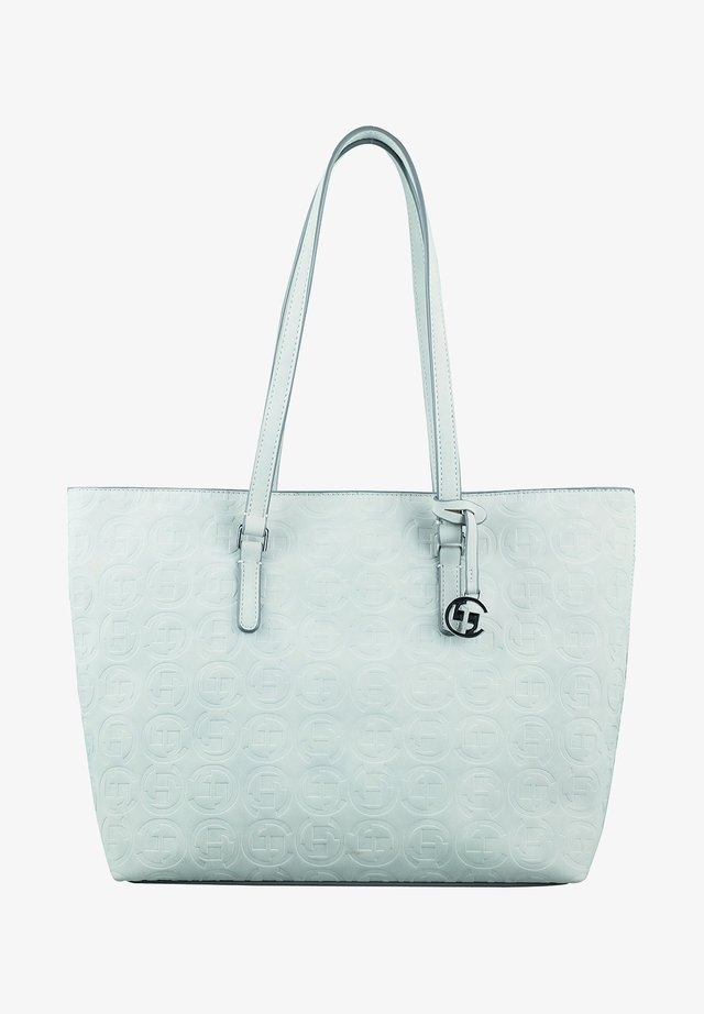 LOGOMANIA SHOPPER - Tote bag - light grey