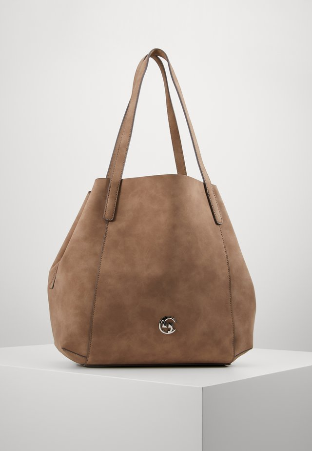 DINNER PARTY  - Tote bag - taupe