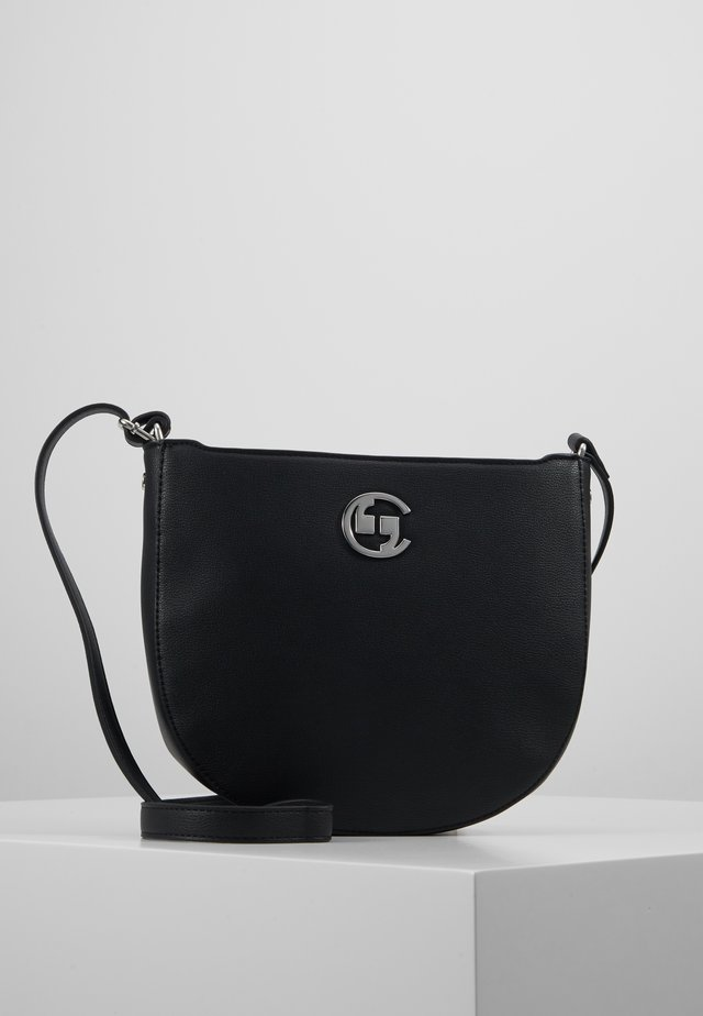 HOLD ON SHOULDERBAG - Umhängetasche - black