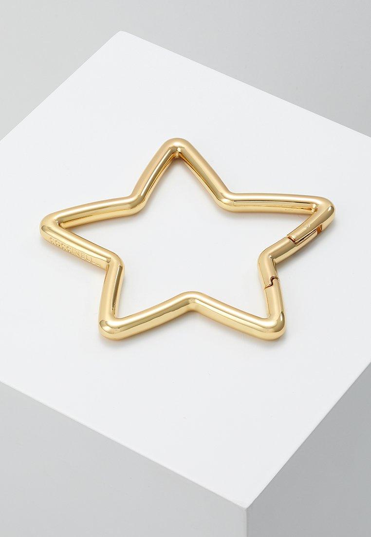 Coccinelle - SILHOUETTE MAXY STAR KEYCHAIN - Schlüsselanhänger - gold-coloured