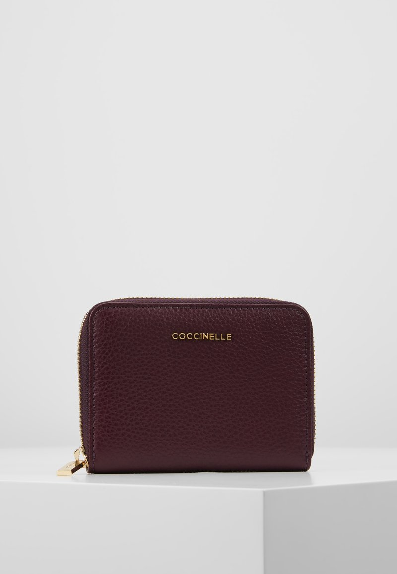 Coccinelle - SOFT - Monedero - plum