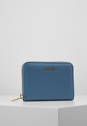 METALLIC SOFT SMALL  - Wallet - denim
