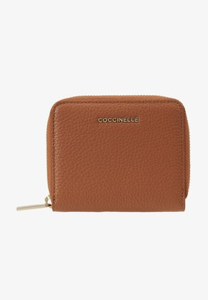 SOFT CARD ZIP - Wallet - tan