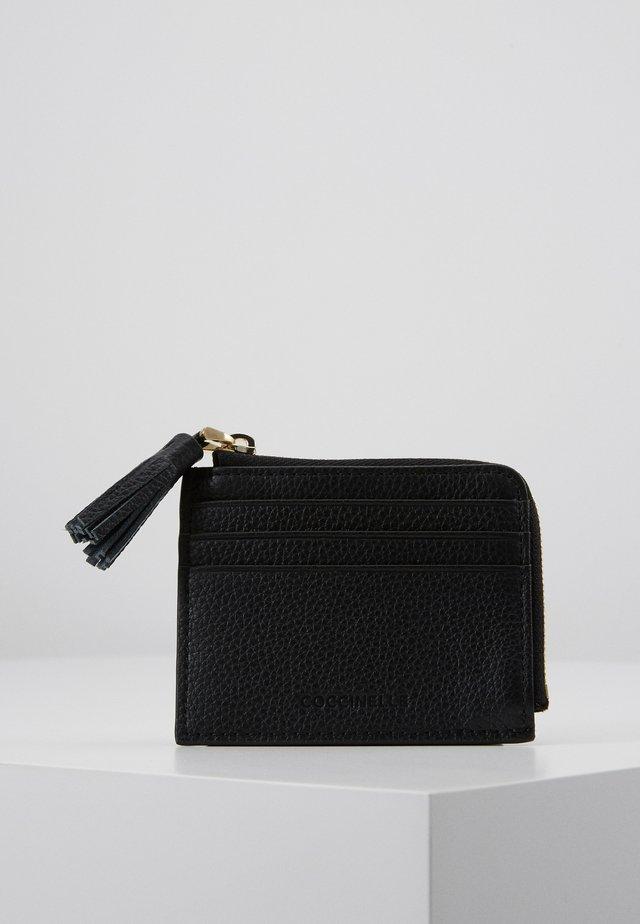 TASSEL CARD HOLDER - Geldbörse - noir