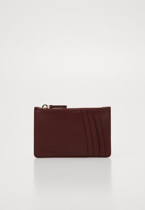TRAVEL ITEM CARD ZIP - Wallet - marsala