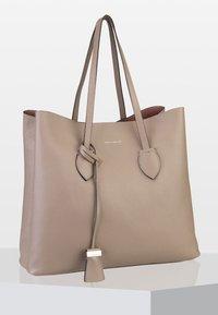 Coccinelle - CELENE GRANA - Tote bag - beige - 0