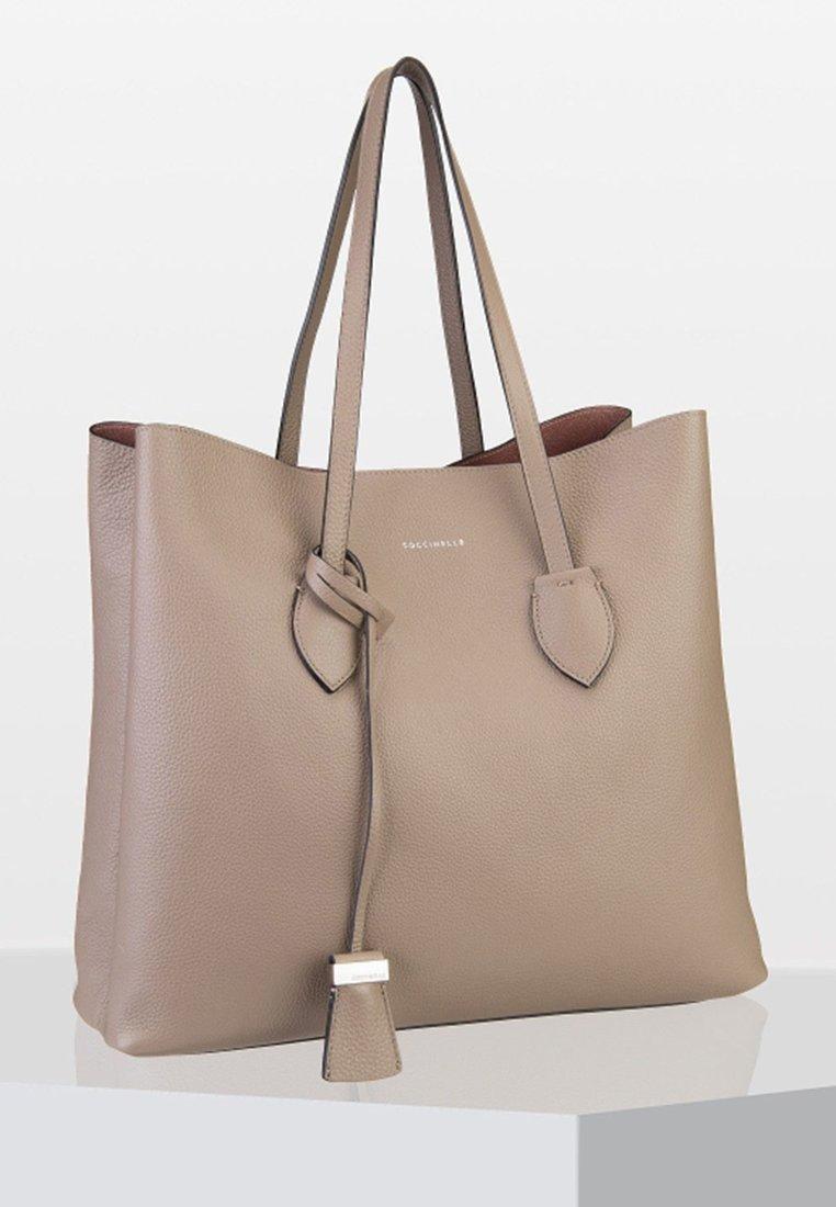 Coccinelle - CELENE GRANA - Tote bag - beige