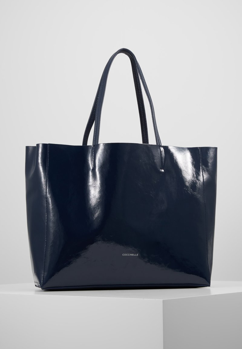 Coccinelle - DELTA NAPLACK - Bolso shopping - ink