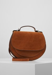 Coccinelle - SIRIO - Across body bag - caramel - 0