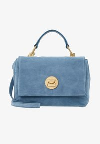 Coccinelle - LIYA MINI SATCHEL - Torebka - denim - 5