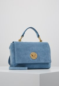 Coccinelle - LIYA MINI SATCHEL - Torebka - denim - 0
