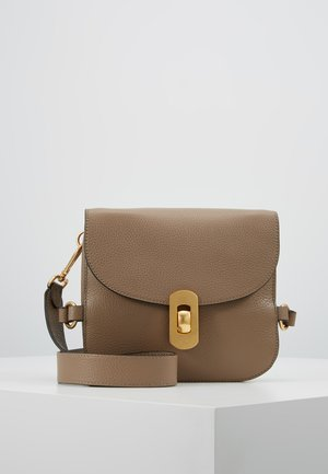 ZANIAH SQUARE - Across body bag - taupe