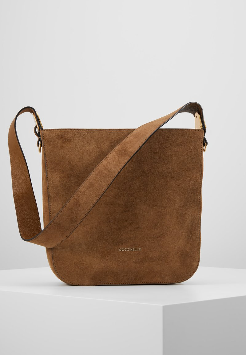 Coccinelle - FLORENCE - Handbag - tobacco