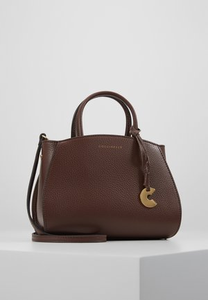 CONCRETE HANDBAG - Torebka - chocolate
