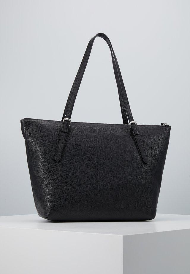 ALIX GRAINY TOTE - Tote bag - noir