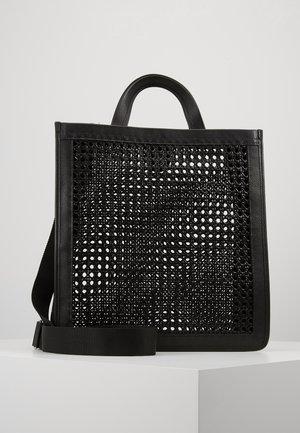 BORSA PAGLIA BOTTALATINO - Tote bag - noir
